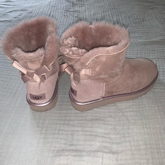 UGG Shoes | Ugg Bailey Bow Ii Rose Gold